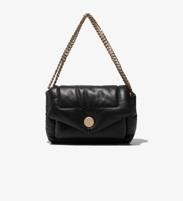 PROENZA SCHOULER Puffy Napa Black Shoulder Bag