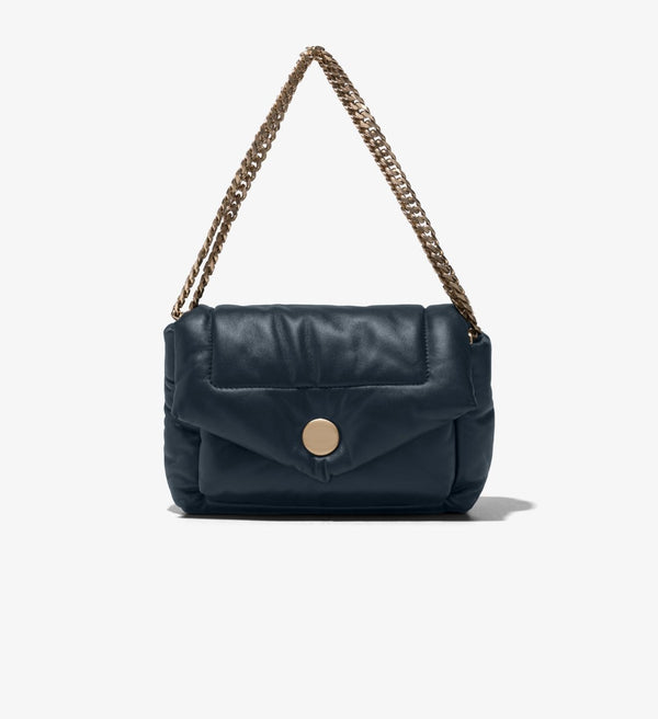 PROENZA SCHOULER Puffy Napa Navy Shoulder Bag