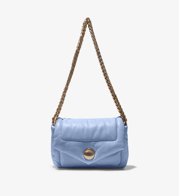 PROENZA SCHOULER Puffy Napa Sky Blue Shoulder Bag