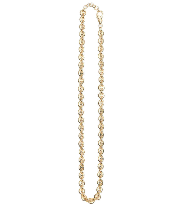 SOPHIE BUHAI Gold Small Circle Link Necklace