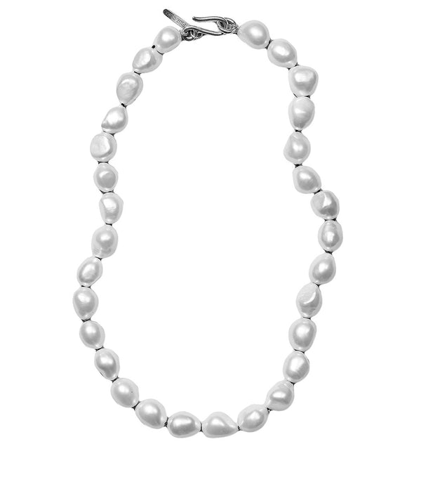 SOPHIE BUHAI Simple Baroque Pearl Neckace