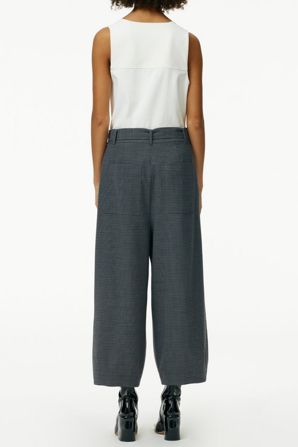 TIBI Auguste Houndstooth Stella Ankle Pant
