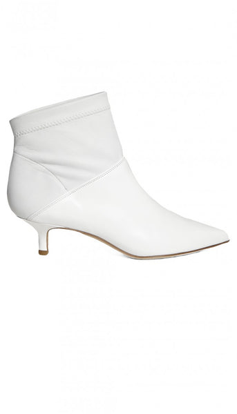 Tibi-Jean Calf Leather Bootie