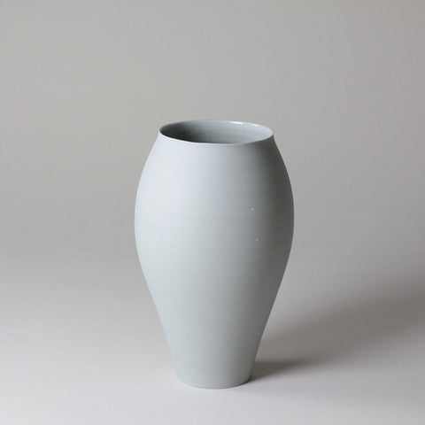 LILITH ROCKETT CERAMICS Grey porcelain vase - Grey