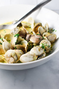 Clams Cooked Whole