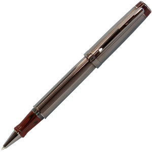 5280 Opera PVD Gunmetal and Red Ebonite Roller Ball Pen