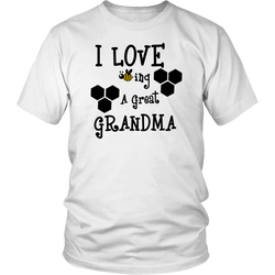 I LOVE BEEING A GREAT GRANDMA