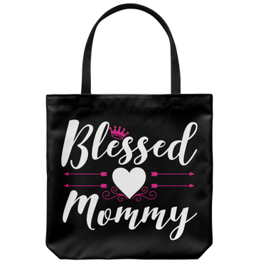 Blessed Mommy Tote Bag