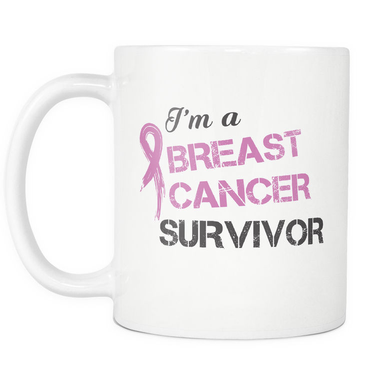 I'm A Breast Cancer Survivor Mug