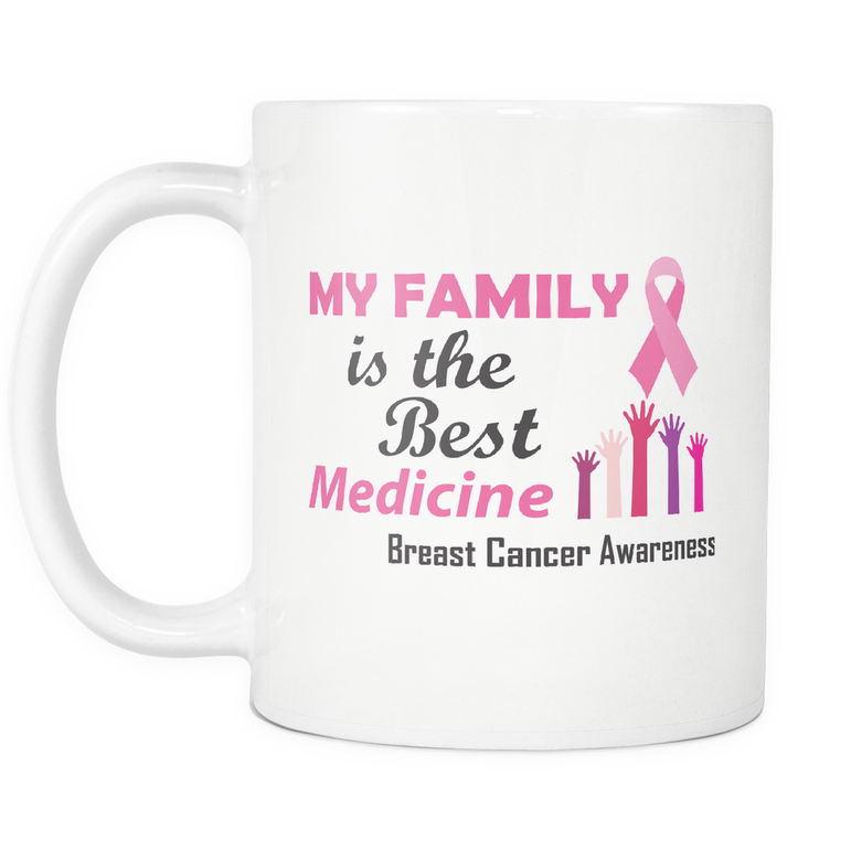 My Family is the Best Medicine Mug