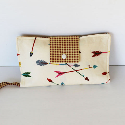 Nappy Wallet - Baby Accessories - Arrows Collection