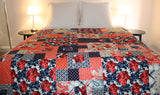 Bed Quilt - Queen Size Bed Quilt