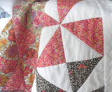 Baby Quilt - Liberty - Cot Quilt