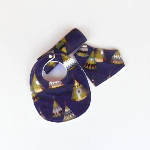 Baby Bib - Burp Cloth - Dribble Bib - Bandana Bib