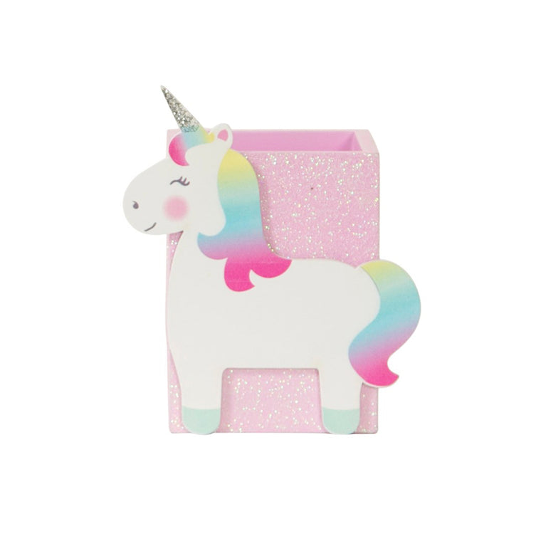 Betty The Rainbow Unicorn Pen Pot