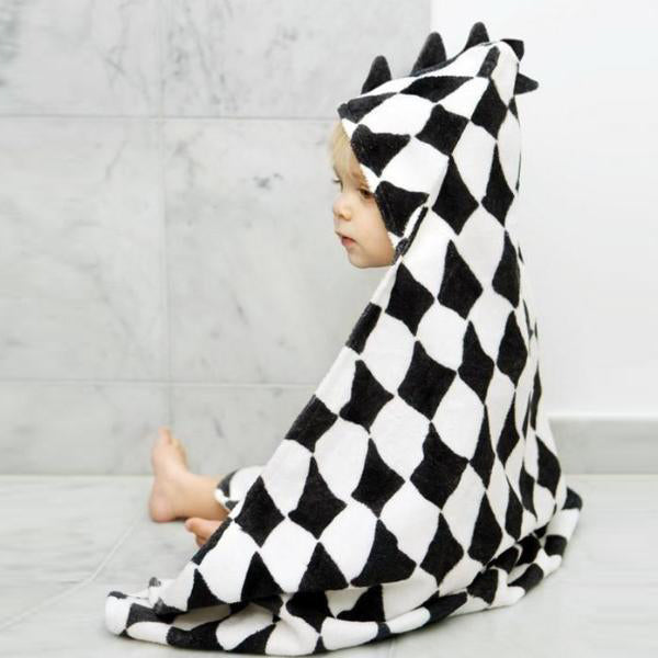 Hooded Towel - Graphic Grace