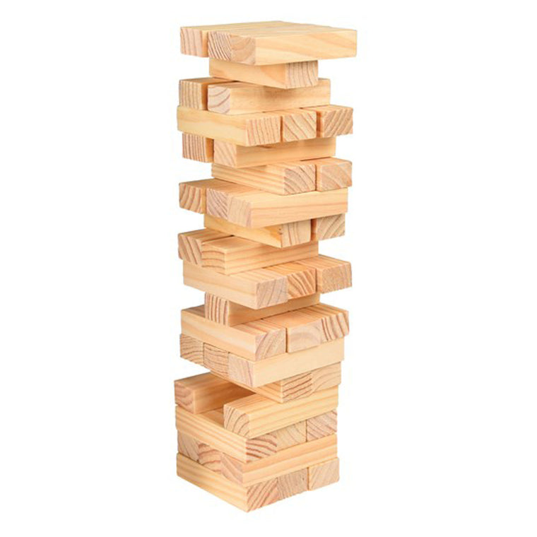 54 PIECE TOPPLE TOWER