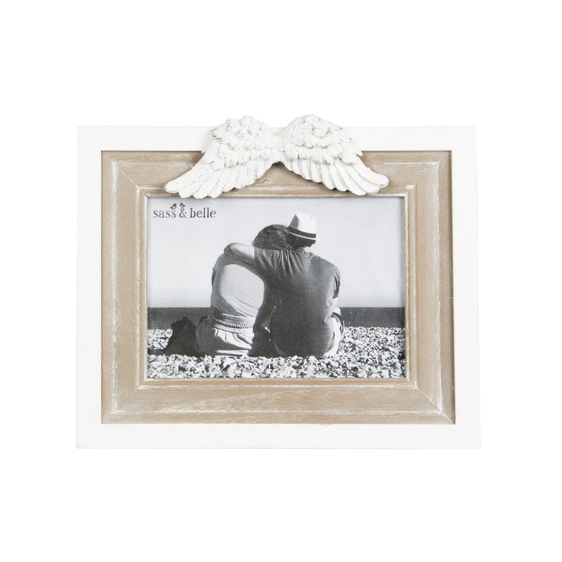 ANGEL WINGS LANDSCAPE PHOTO FRAME