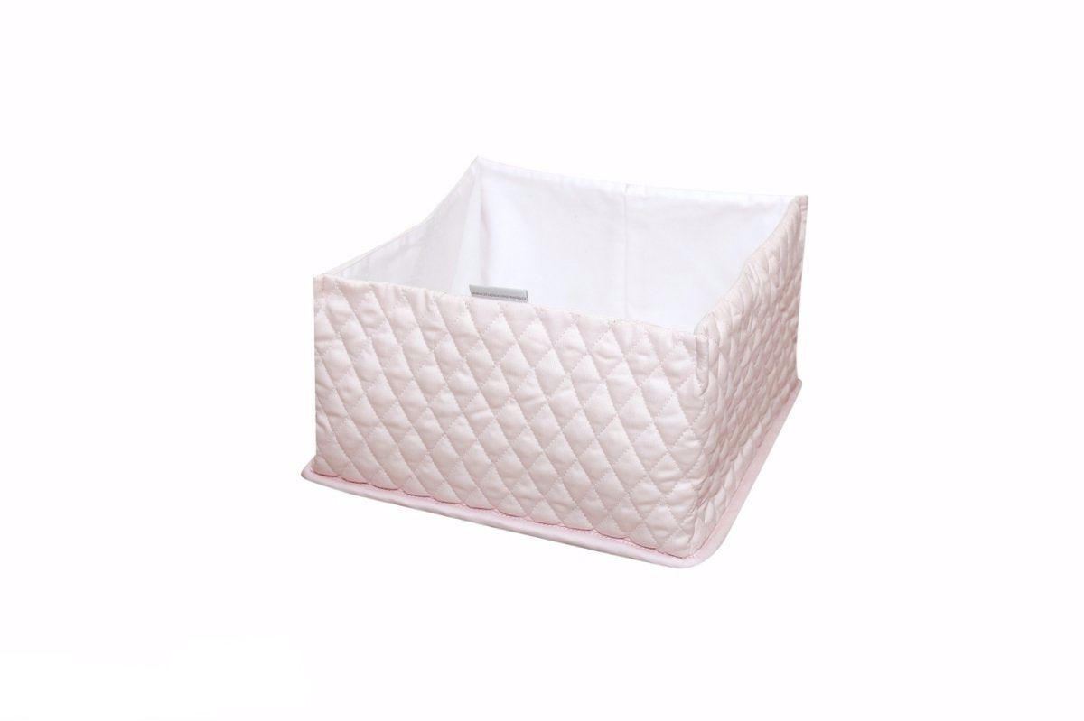 BABY PINK QUILTED BOX