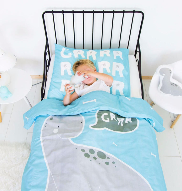 BED COVER SET BRONTOSAURUS
