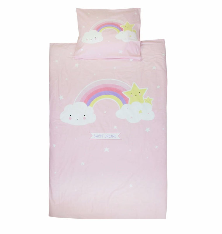 BED COVER SET UNICORN