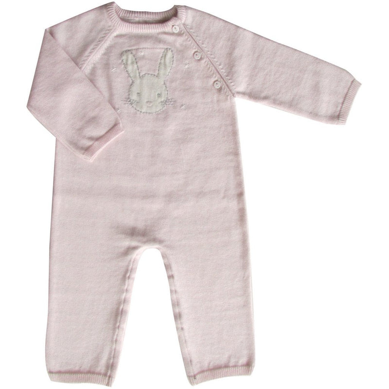 Bunny Knit Babygro 0-3 months