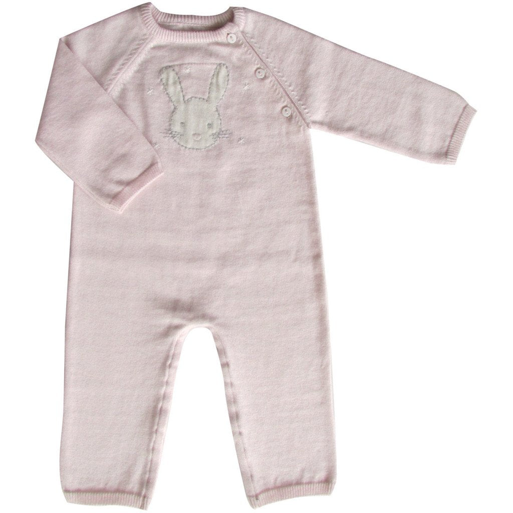 Bunny Knit Babygro 3-6 months