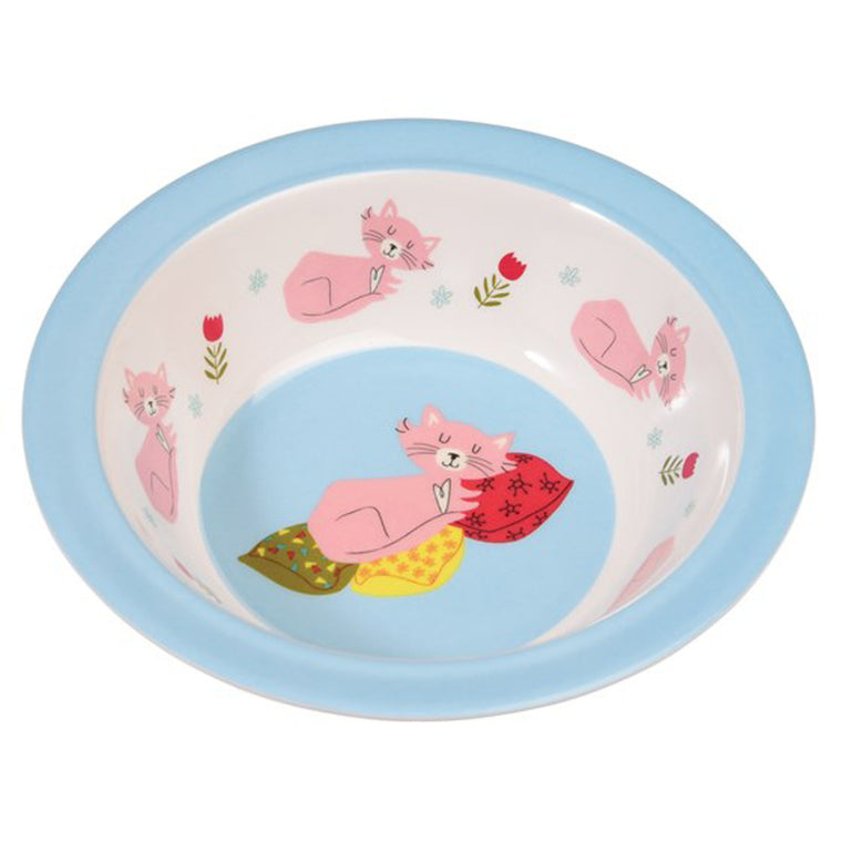 CAT'S LIFE MELAMINE BOWL