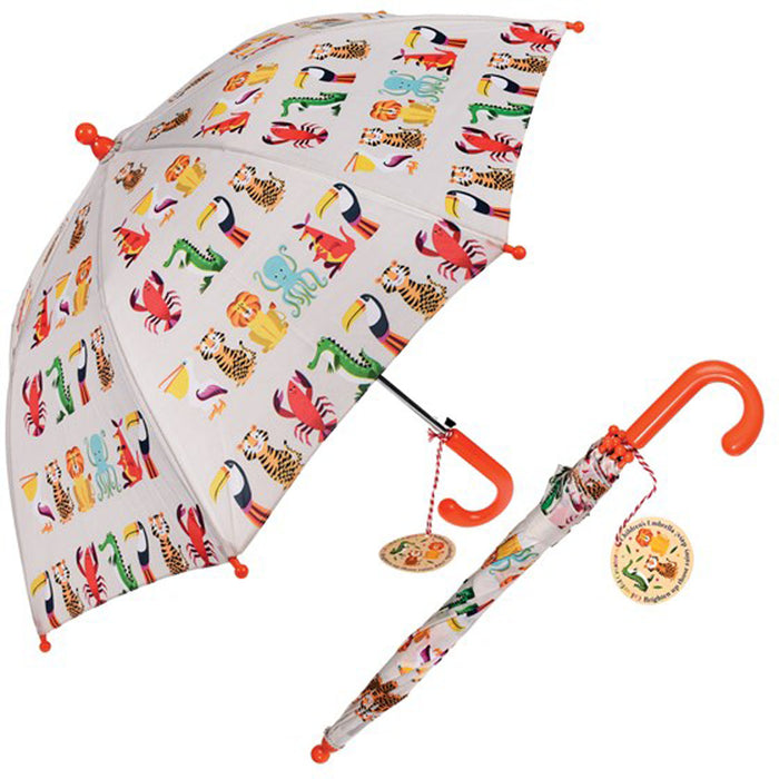 COLORFUL CREATURES CHILDREN'S UMBRELLA