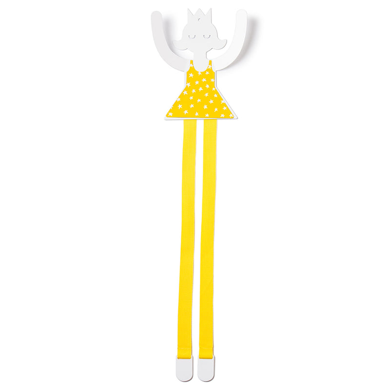 CLIPS HOLDER YELLOW PRINCESS