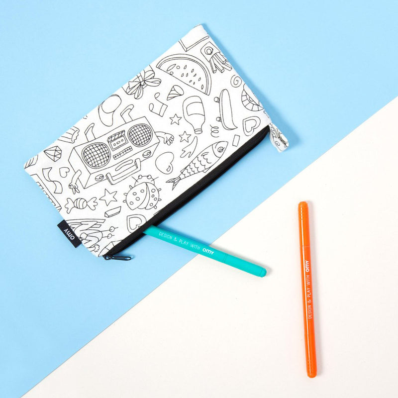 COLORING PENCIL CASE