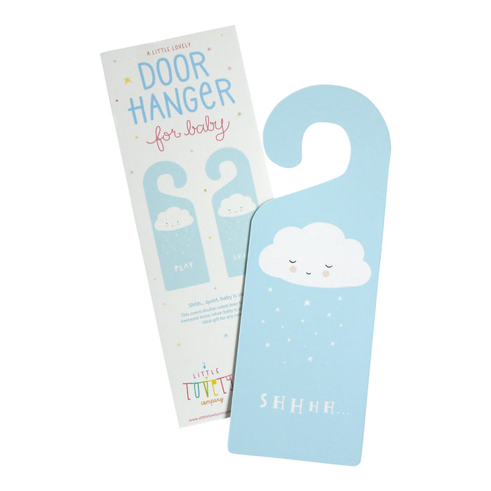 DOOR HANGER CLOUD