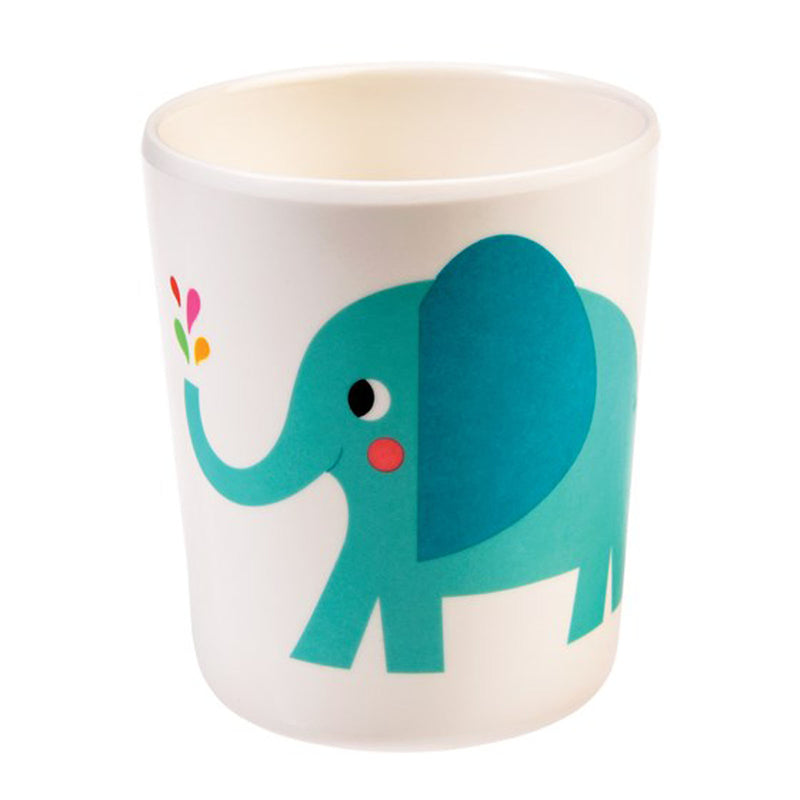 ELVIS THE ELEPHANT MELAMINE CUP
