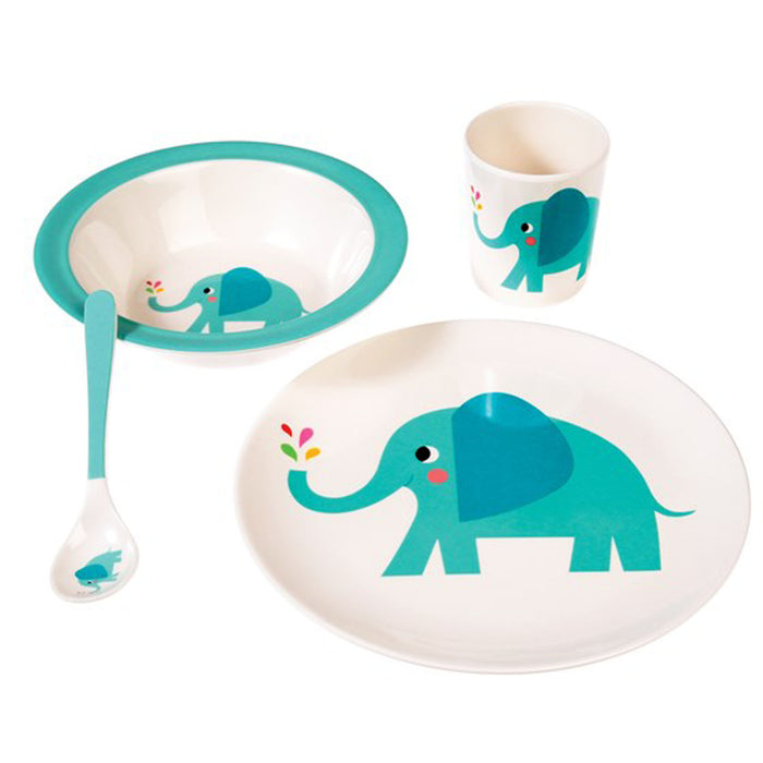 ELVIS THE ELEPHANT MELAMINE PLATE