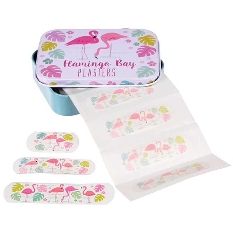 FLAMINGO BAY PLASTERS IN A TIN