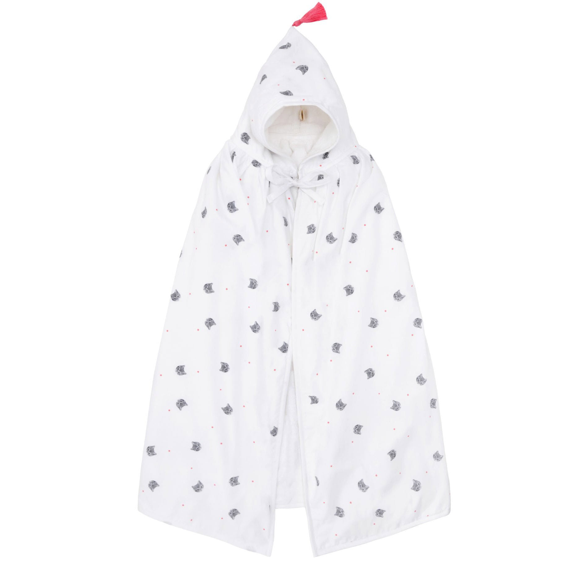 HOODED MELISSA BATH CAPE - MEDIUM