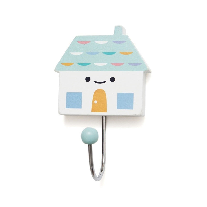HOOK LITTLE HOUSE SOFT AQUA