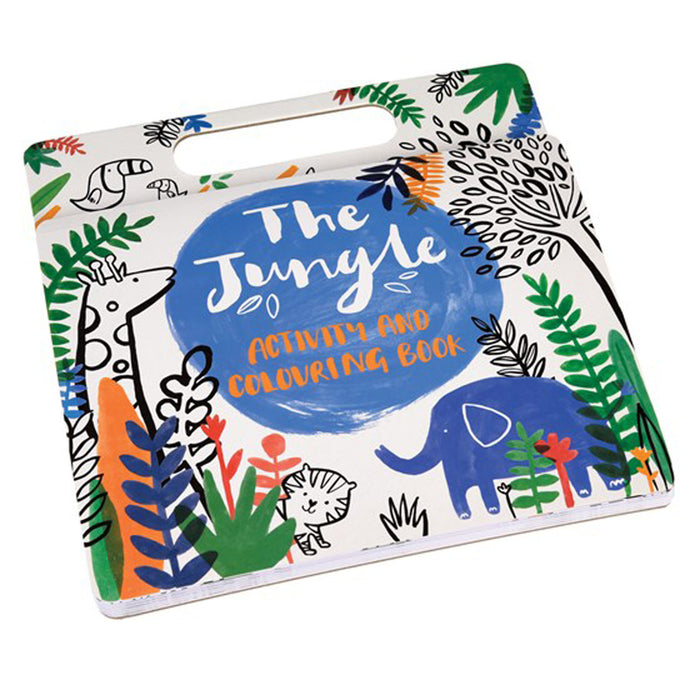 JUNGLE COLORING AND ACTIVITY BOOK