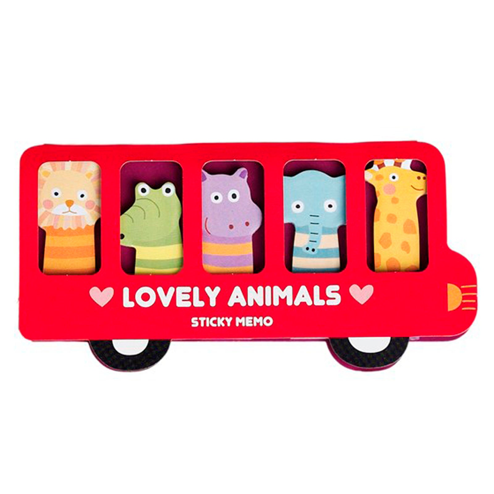 LOVELY ANIMALS MEMO PADS