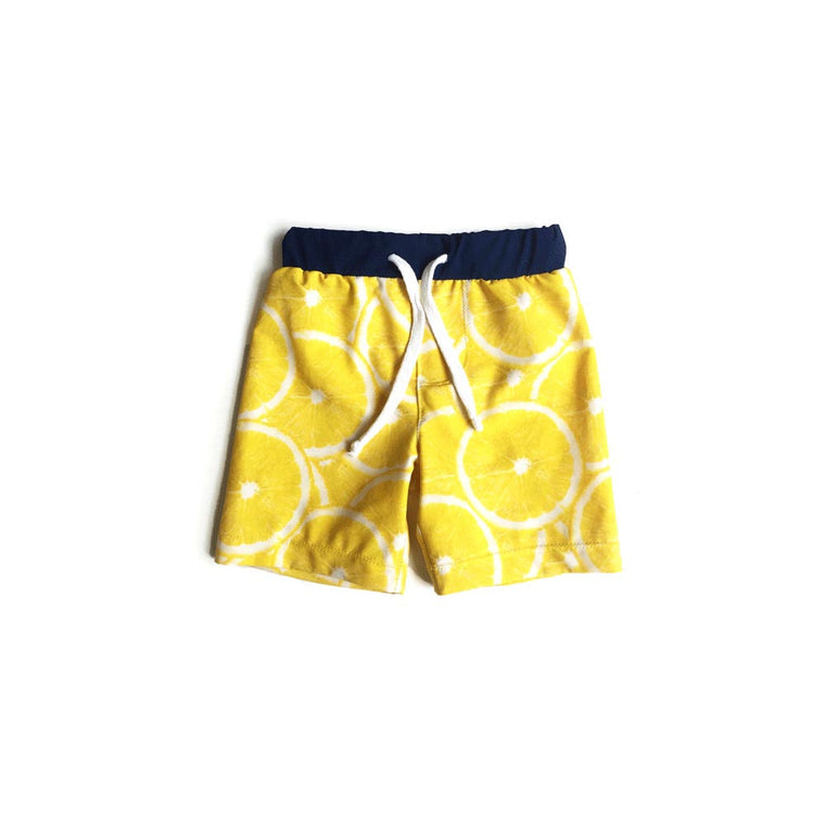LEMON BOY SWIMSUIT - 2T