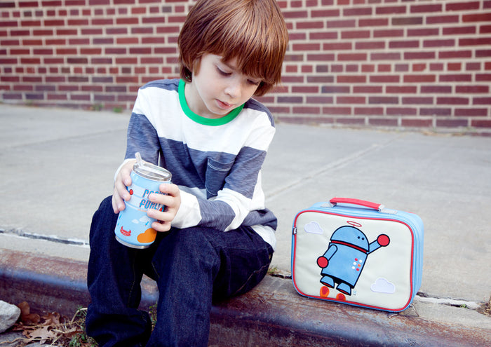 ALEXANDER THE ROBOT LUNCH BOX