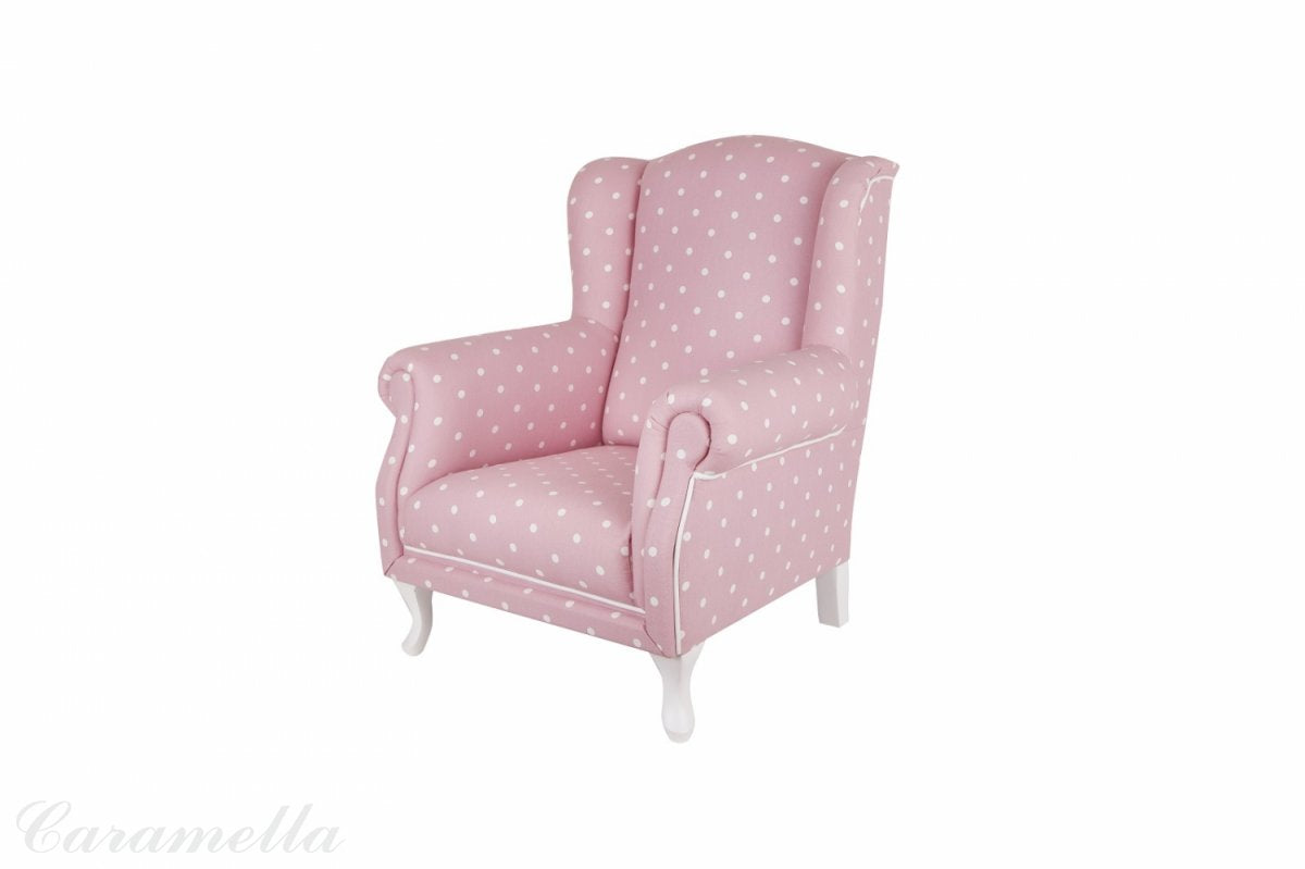 MINI PINK DOTTED ARMCHAIR