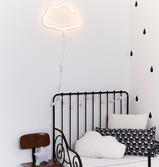 YELLOW CLOUD NEON LIGHT