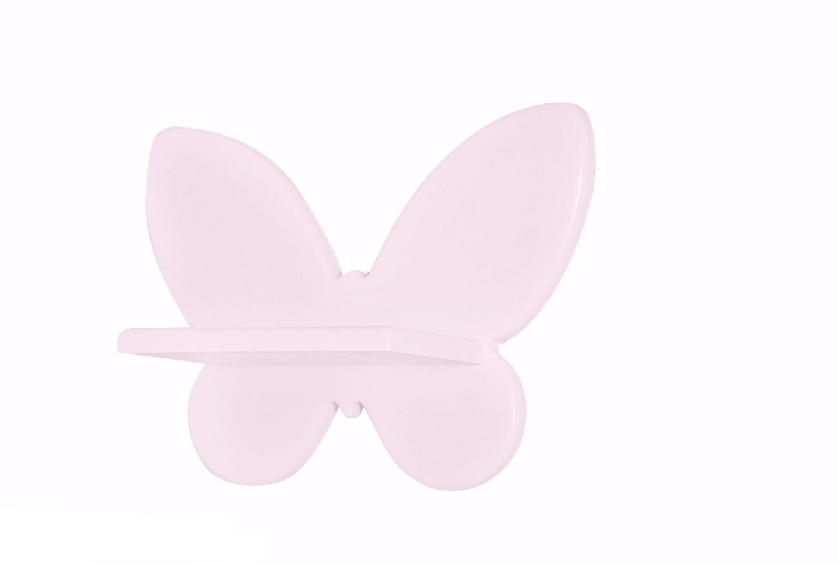 PINK BUTTERFLY SHELF