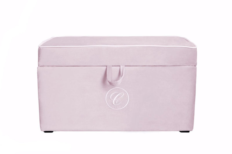 PINK TRUNK WITH EMBLEM
