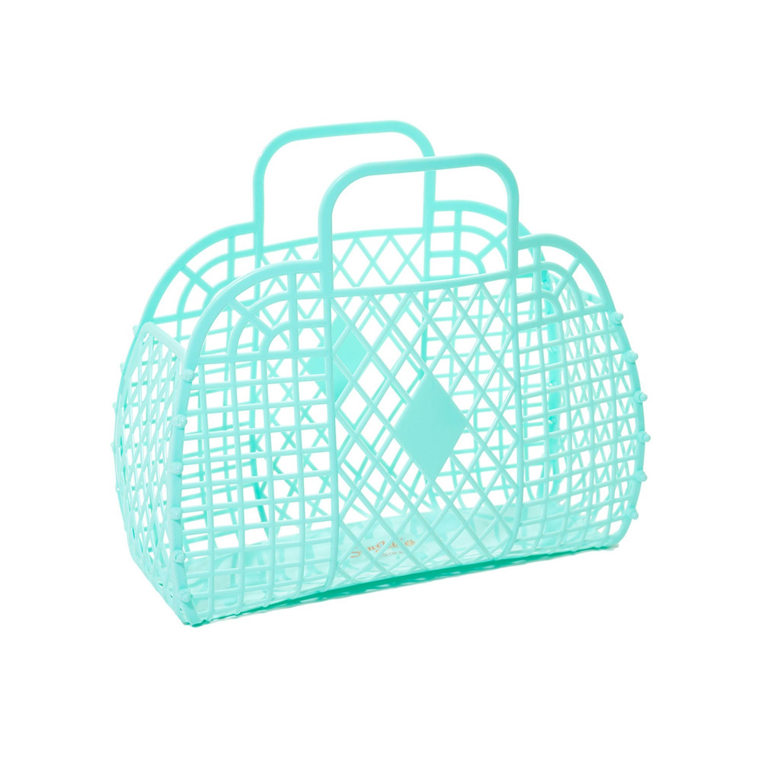 LARGE RETRO BASKET - MINT