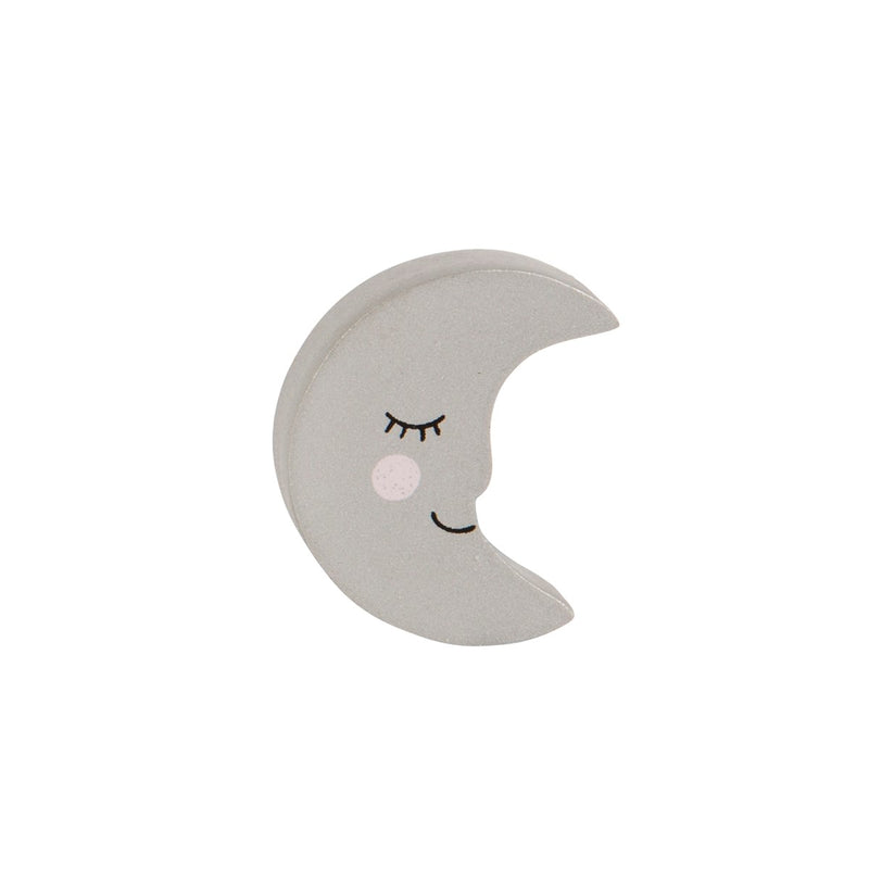 SWEET DREAMS SMILING MOON DRAWER KNOB