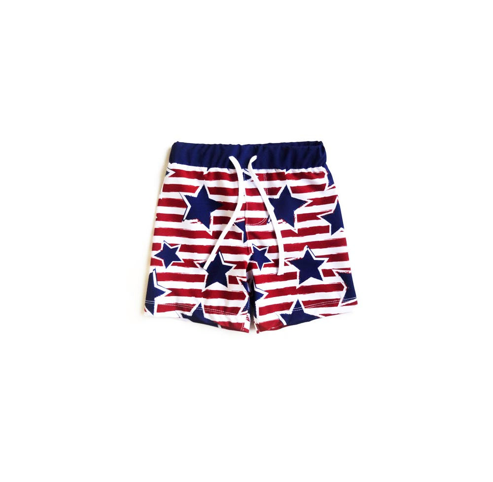 STARS BOY SWIMSUIT - 2T
