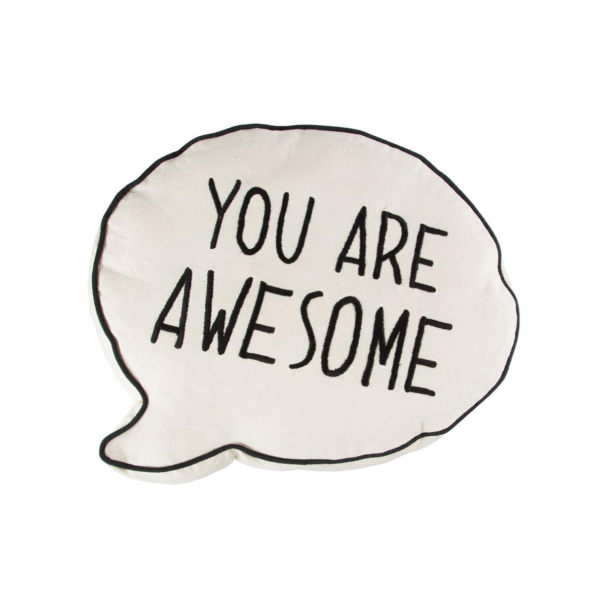 you are awesome cushion poccodots