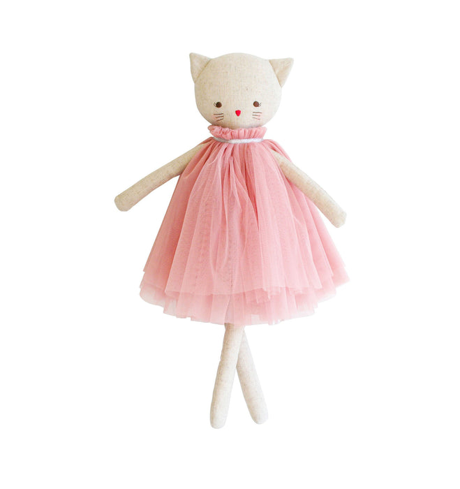 AURELIE LINEN CAT DOLL